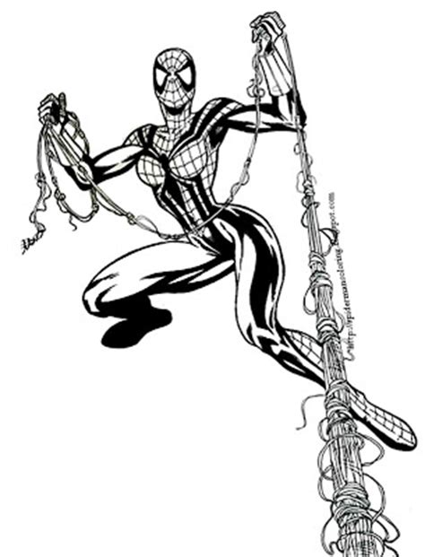 spiderman coloring spidergirl coloring pages