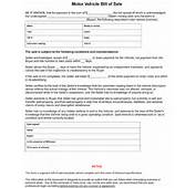 Missouri Bill Of Sale Form  8ws Templates &amp Forms