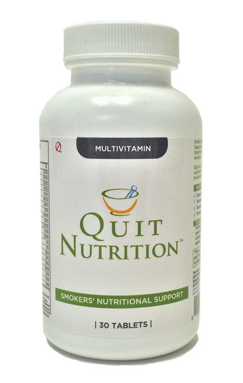supplement quit quit nutrition an effective way to replenish the