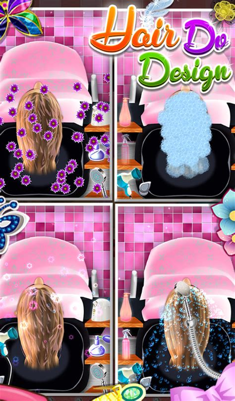design hair game hair do design girls game apk free casual android game