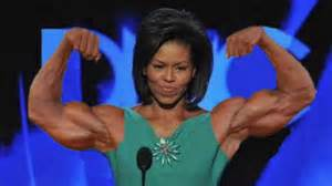 Michelle obama s biceps youtube