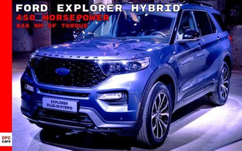 ford explorer hybrid plug  concept release date