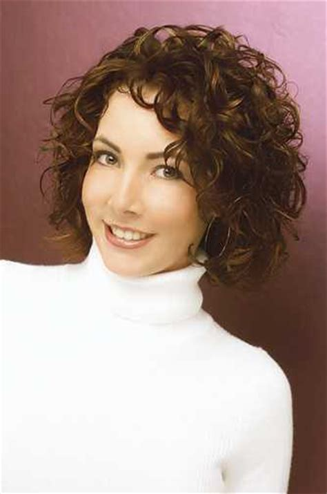 short curly haircuts for 40 yr olds medium length curly hair styles for women over 40