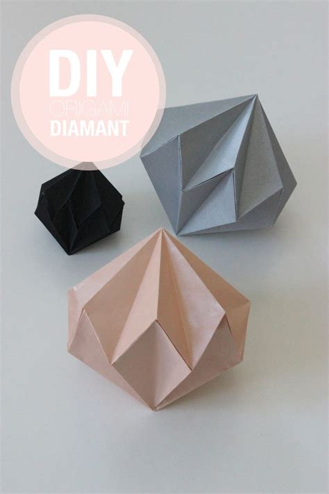 How To Make Paper 3d Shapes - origami origami template origami shapes and