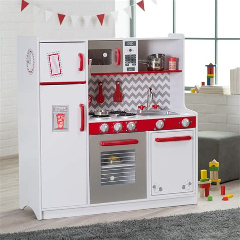 kidkraft corner play kitchen with lights and sounds kidkraft large play kitchen with lights and sounds