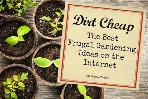 cheap gardening ideas dirt cheap the best frugal gardening ideas on the