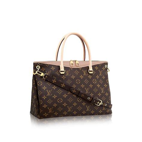Are Louis Vuitton Bags Handmade - pallas monogram canvas handbags louis vuitton