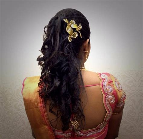 hairstyles for indian reception party indian bride s bridal reception hairstyle by swank studio