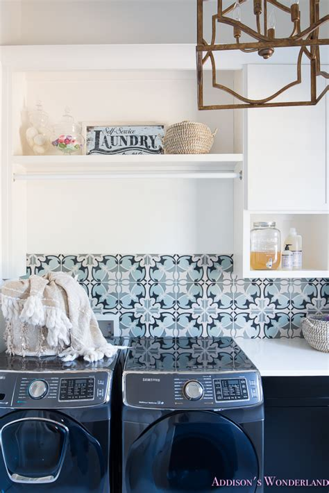 Tory Burch Home Decor by Laundry Room Organization Ideas White Black Cabinets