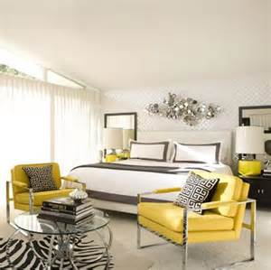 yellow and gray bedroom contemporary bedroom david