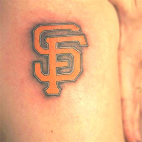 tattoo sf san francisco giants
