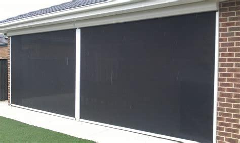 outdoor awning blinds zip track blinds melbourne ziptrak blinds from euroblinds