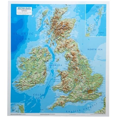relief map raised relief map of the isles 3d relief map of britain
