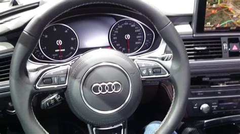 Audi A6 Lenkrad by Audi A6 Steering Wheel Geneva Car Show 2016