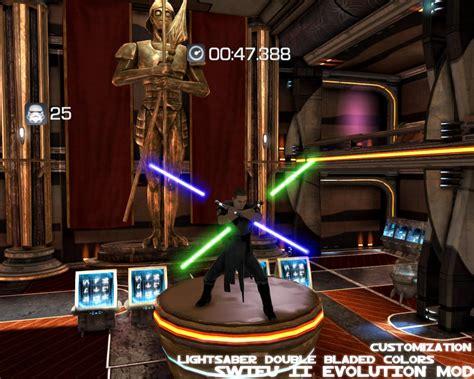 swtfuii evolution mod doble bladed saber colors image