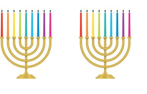 hanukkah color what color are hanukkah candles image antique and candle