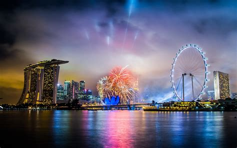 new year singapore singapore fireworks happy new year wallpaper 8919