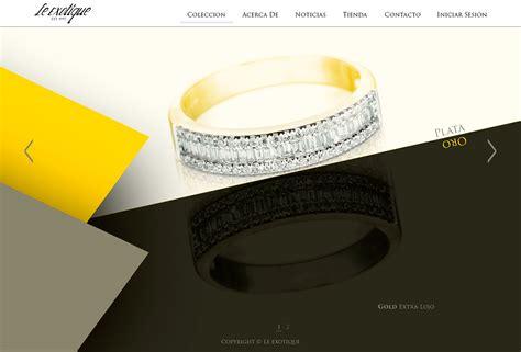 design le web design le exotique on behance