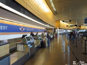 Southwest airlines check in counters at seattle tacoma airport photo