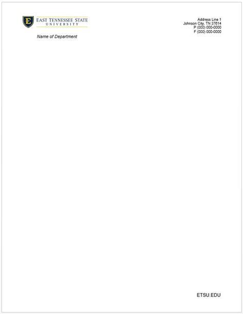 electronics letters template etsu letterhead