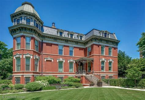 historic victorian style home  chicago illinois homes