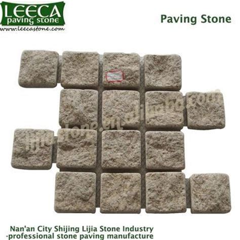 Cobblestone Paver Mats by Interlocking Cobblestone Mat Beige Granite Patio Paver