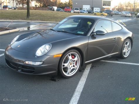 porsche slate grey metallic 2005 slate grey metallic porsche 911 s coupe