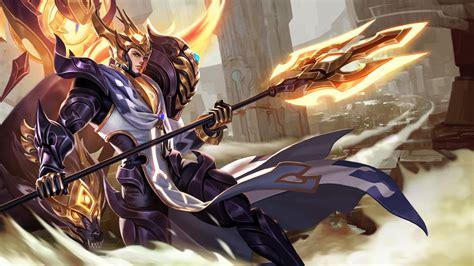wallpaper hd zilong king of glory video game yang jian protection decorative