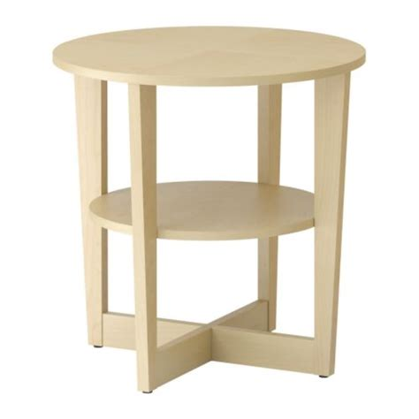 ikea end tables bedroom vejmon side table birch veneer ikea