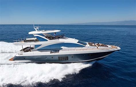 speed boat rental nyc azimut 80 motor charter yacht france and italy nyc