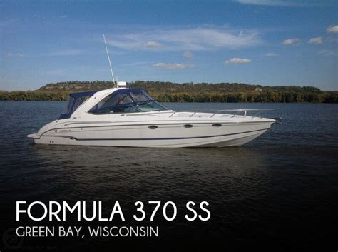 used formula boats for sale in wisconsin for sale used 2007 formula 370 ss in green bay wisconsin