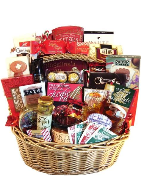 christmas gift baskets now available from giftwithabasket