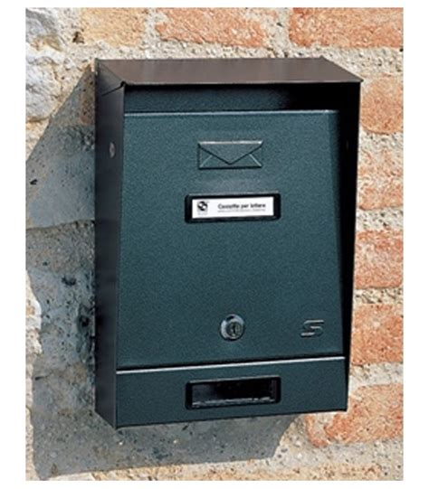 cassetta postale per esterno cassetta postale tradizionale per esterno singola silmec