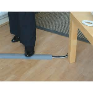 pvc floor cable tidy protector floor cable