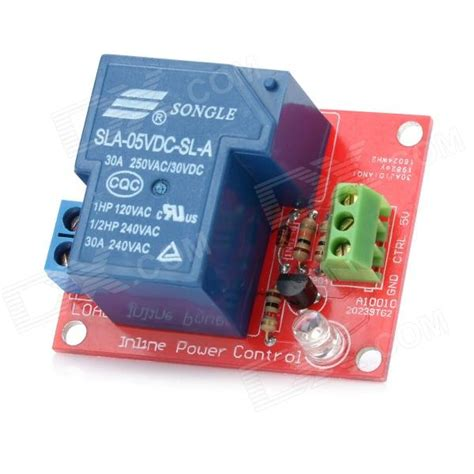 24 Volt Led Lights 1 Channel 5v 30a High Power Relay Module For Arduino
