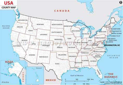 map of usa showing all states and cities usa map showing all the counties usa maps