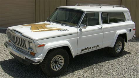 jeep golden eagle interior 1982 fjs 4x4 golden eagle tribute graphics