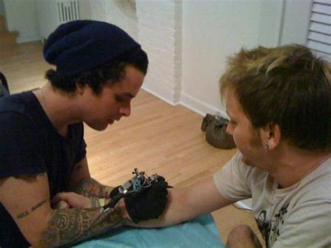 billie joe armstrong tattoos rage and on