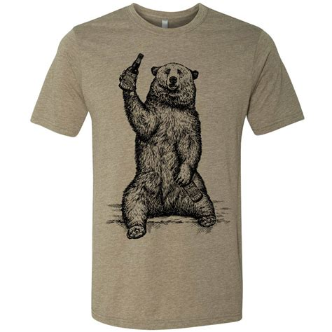 Tshirt And Berr grizzly graphic t shirt craft gift