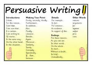 Words To Use In Essay Writing by Persuasive Writing Word Mat Sb10598 Sparklebox