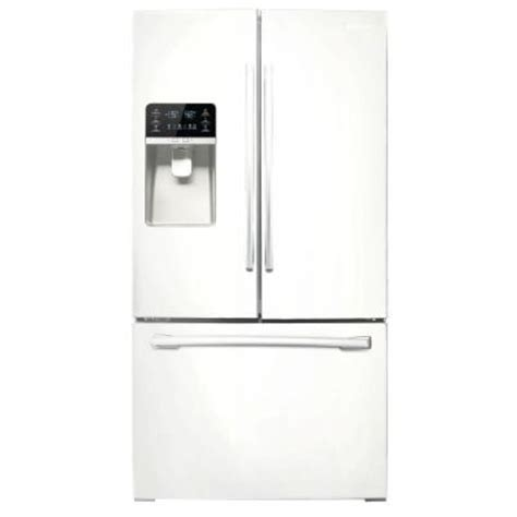 31 6 cu ft door refrigerator in white