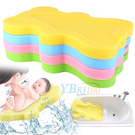 bath sponge support safety aid bathing mat foam non slip