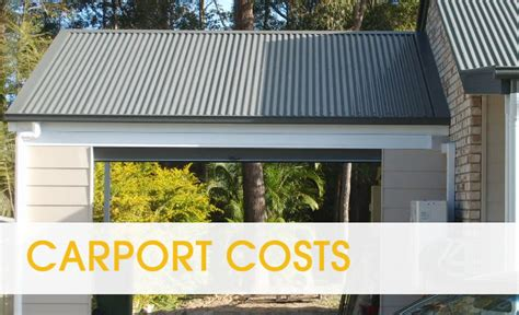 Carport Construction Costs price guide for building carports in brisbane brisbane carports local business