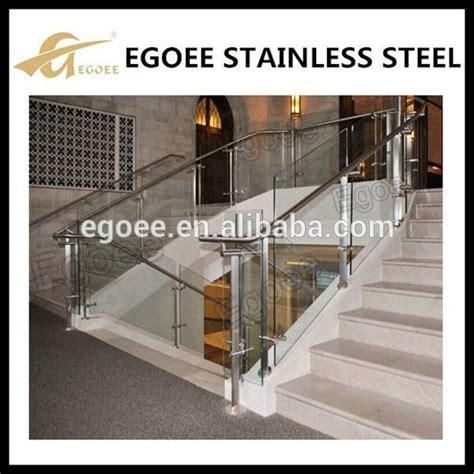 handlauf edelstahl innen hochwertigem edelstahl glas innen treppengel 228 nder