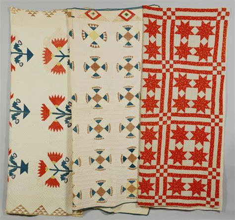 Tennesse Quilts by Lot 647 Three East Tennessee Quilts