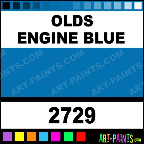 olds engine blue car and truck enamel paints 2729 olds engine blue paint olds engine blue