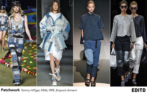 Patchwork Denim Trend - the future of denim trends report edited