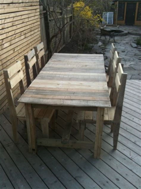 Dining Table Made From Pallets 17 Diy Plans Decorating Your Food Area On Pallet Dining Table Freshnist
