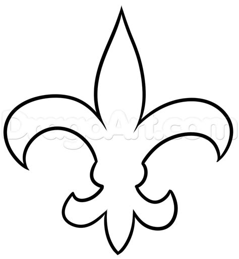 New Drawing How To Draw New Orleans Saints Step By Step Sports Pop