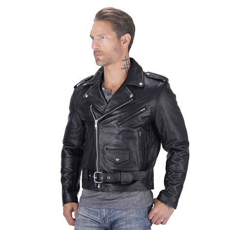 biker jacket nomad usa classic leather biker jacket motorcycle house